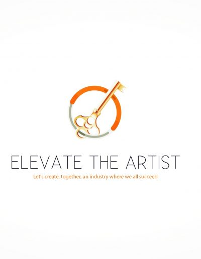 Elevate the Artist (Gold Key Logo)